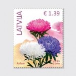 Latvijas Pasts releases first stamps denominated only in euros