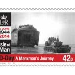 70th D-Day Anniversary stamps issued by Isle of Man