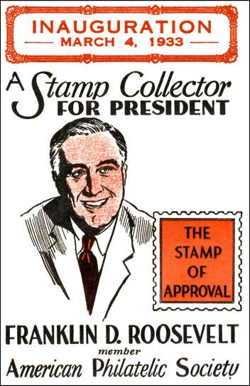 APS poster Franklin D Roosevelt