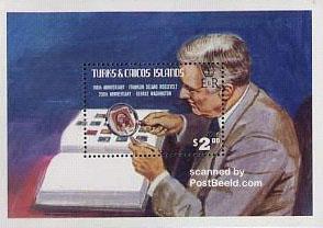stampblock Franklin Delano Roosevelt