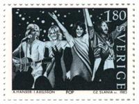 Abba Stamp Sweden