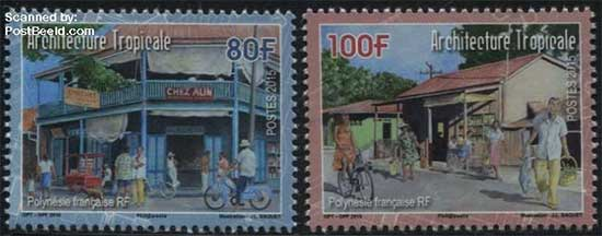 French-Polynesia-stamps