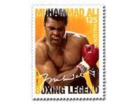 Muhammad Ali postage stamp
