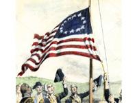 hoisting the flag