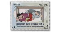 earthquake stamps